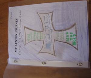 Lenten Journey Portfolio - lent