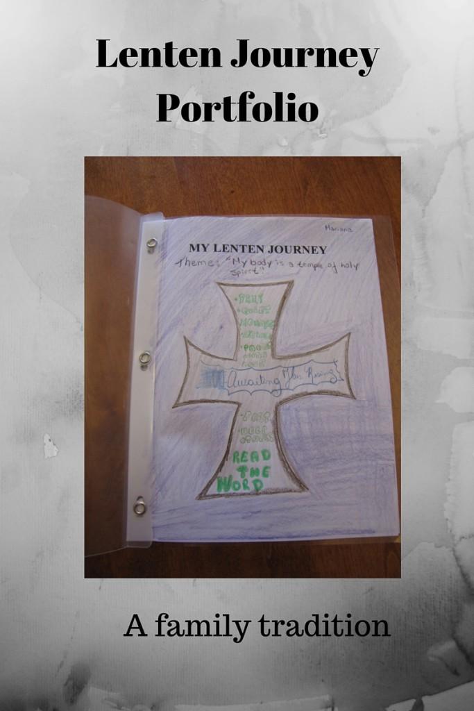 Lenten Journey Portfolio